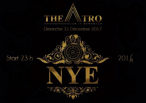 NEW YEAR'S EVE 2018 avec le THEATRO