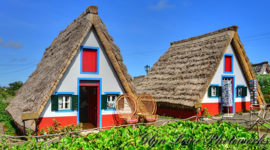 Santana, maisons typiques