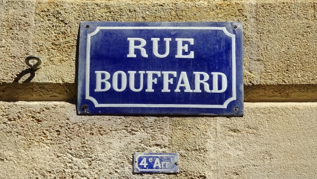 Au détour d'une rue bordelaise #37: la Rue Bouffard