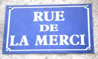 Au détour d'une rue bordelaise #38: la Rue de la Merci