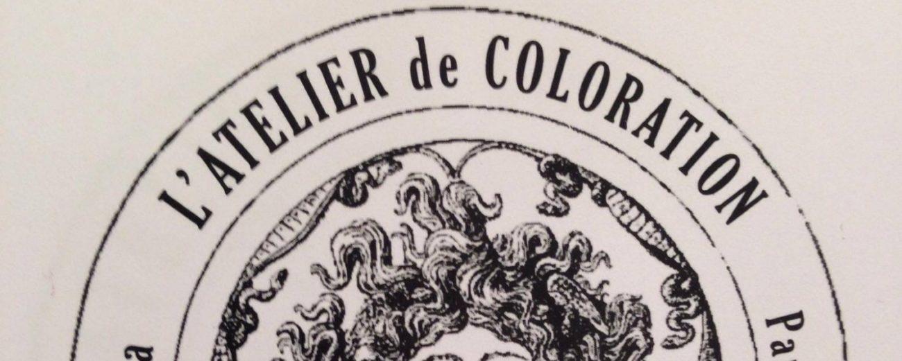 atelier de coloration