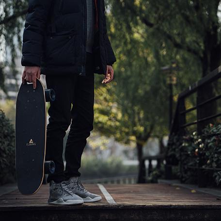 Le skate électrique à Bordeaux : ça roule tout seul !