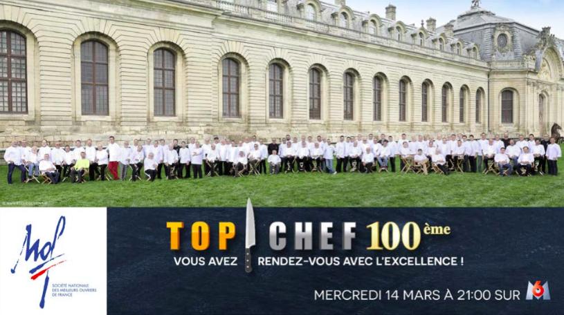 TOP CHEF 2018 : l'Aquitain François Adamski convié pour le 100ème épisode !