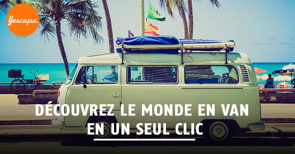 Yescapa : la location de vans entre particuliers a le vent en poulpe !