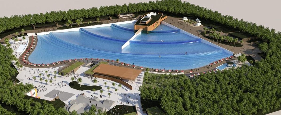 Landes : le premier grand parc à vagues artificielles va ouvrir en 2020