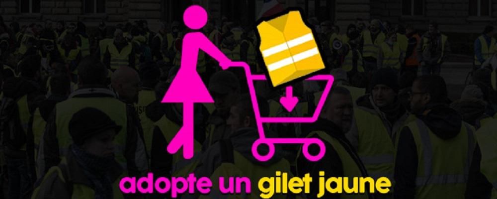 """Insolite : """"adopte un gilet jaune"""", la page dédiée aux rencontres entre manifestants"""