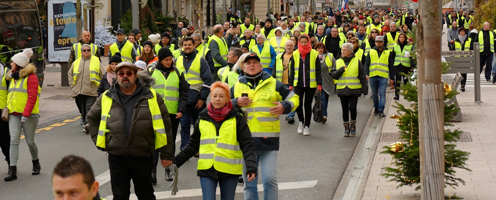 Gilets jaunes : 2 manifestations prévues demain à Bordeaux et des sites municipaux fermés