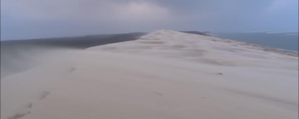 L'impressionnante vidéo de la tempête sur la dune du Pilat