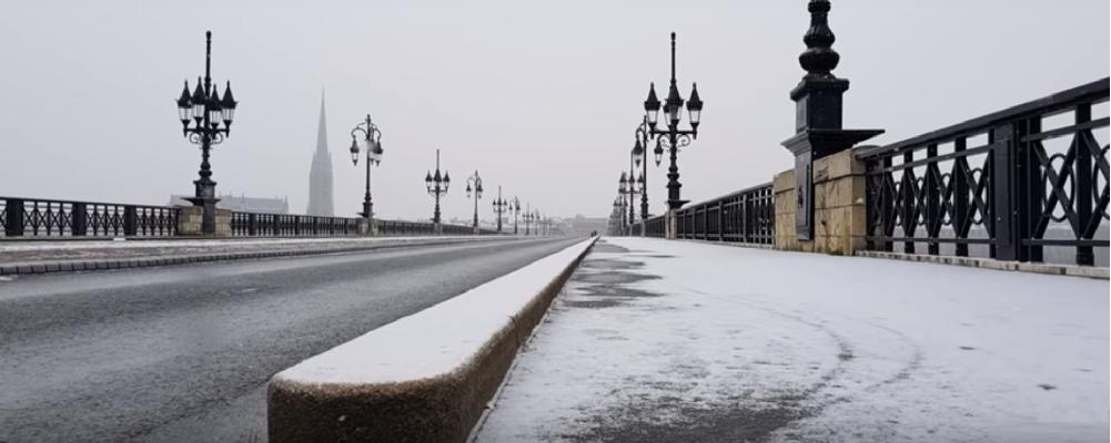 Météo : le Gironde placée en vigilance neige et verglas