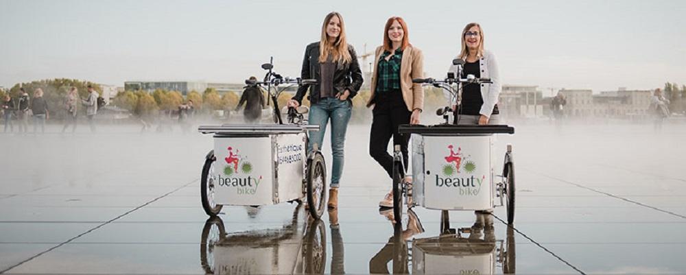 Beauty Bike, l'esthétisme à domicile, ouvre sa boutique éphémère