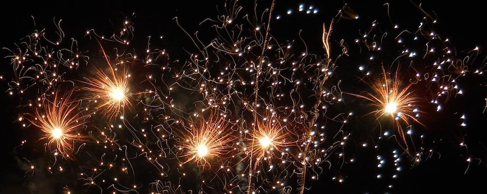 Quel était ce feu d'artifice qui a surpris les Bordelais?
